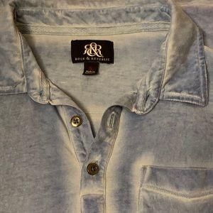 Men's Rock & Republic Acid Washed Shirt- Small